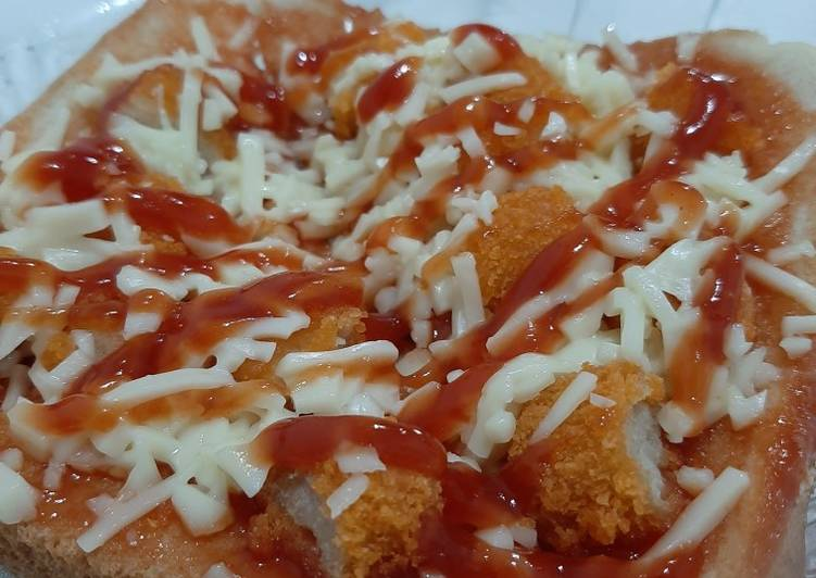 Pizza Roti Tawar Teflon