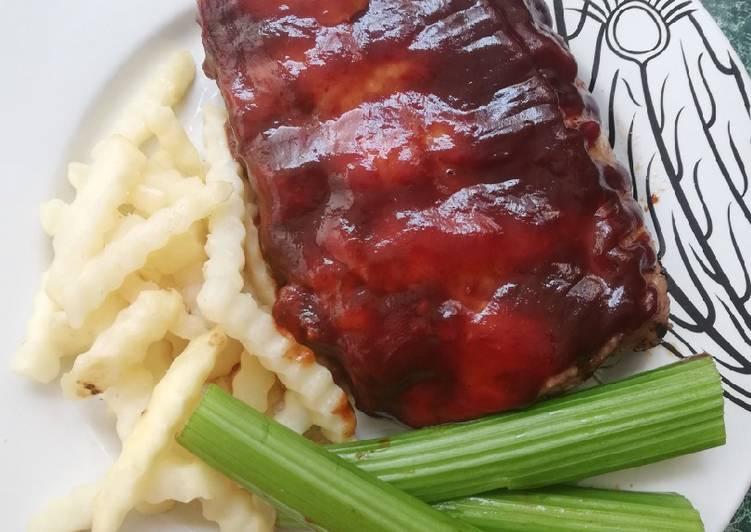 Costillas de Cerdo en Salsa Barbecue