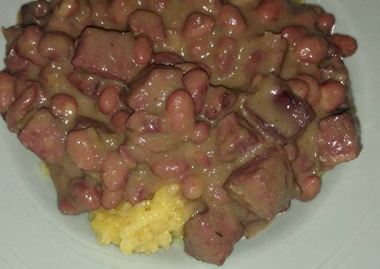 Recipe: Tasty Creamy Cajun Red Beans