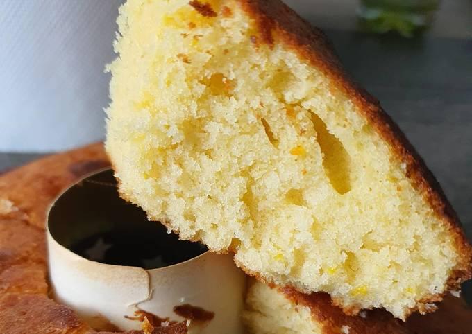 Gâteau moelleux à l orange