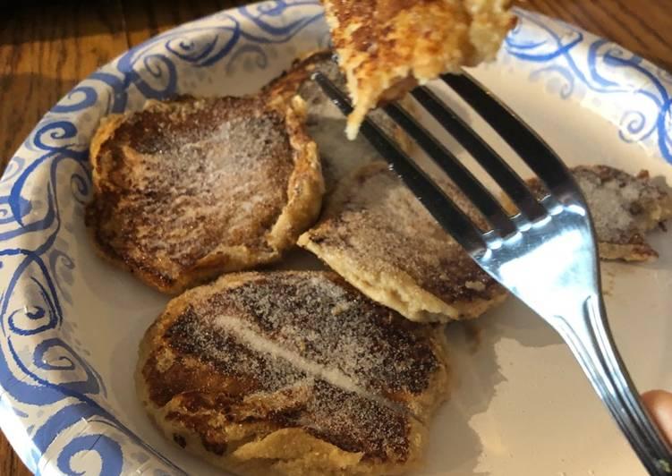 Recipe of Homemade Sugary sweet mini pancakes!