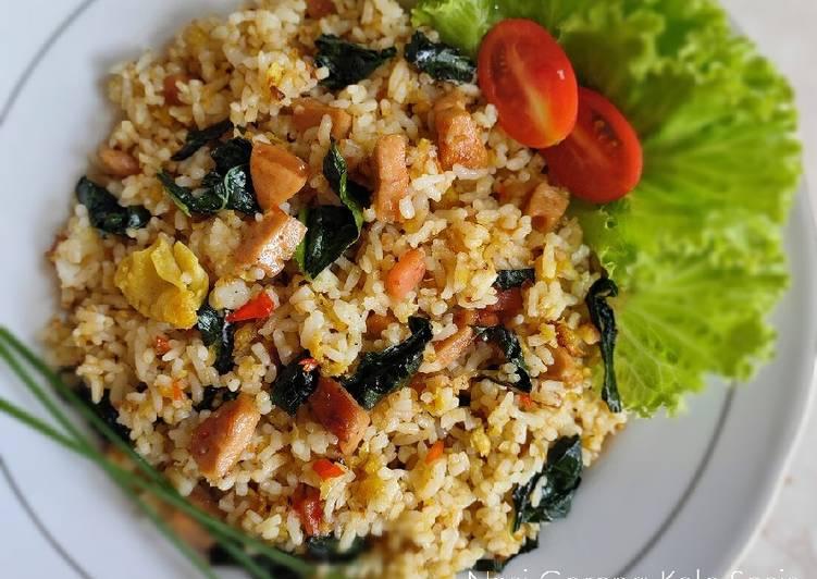 Nasi Goreng Kale Sosis