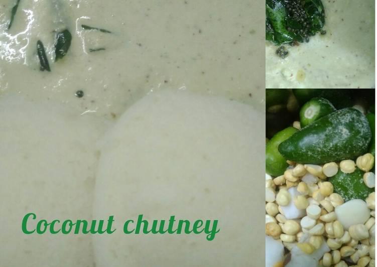 15 Minute Steps to Prepare Speedy COCONUT - ROASTED BENGAL GRAM CHUTNEY | THENGAI THUVAYAL