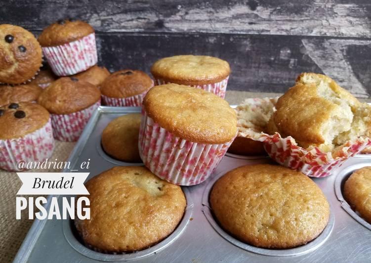 Brudel Pisang Cupcakes