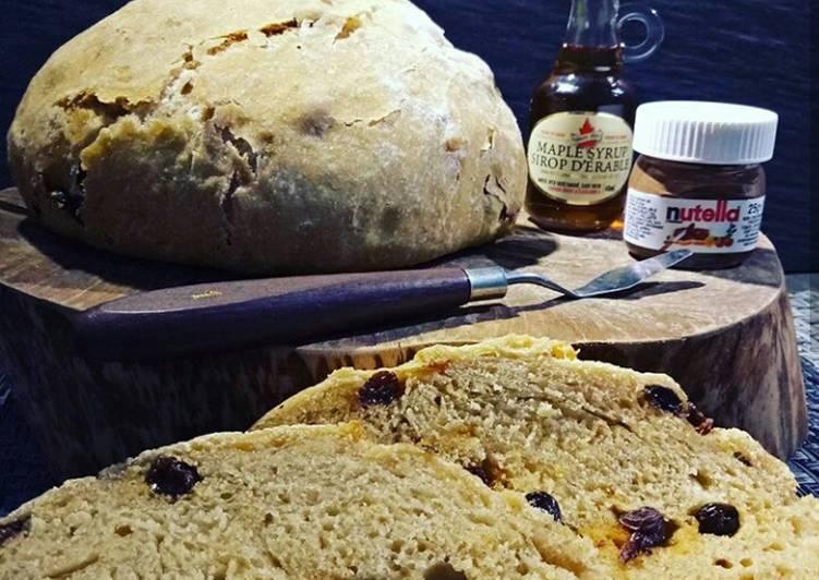 Wheat Bread (overnight) || tanpa ulen