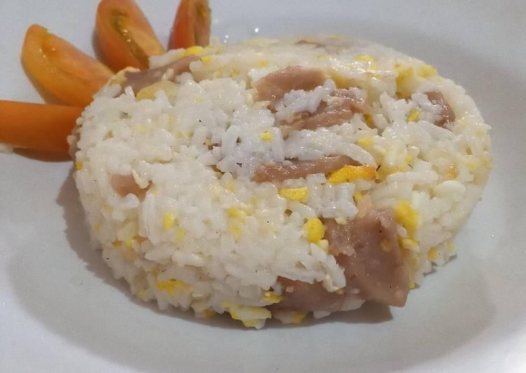 Resep Nasi goreng bawang putih no MSG Paling Top