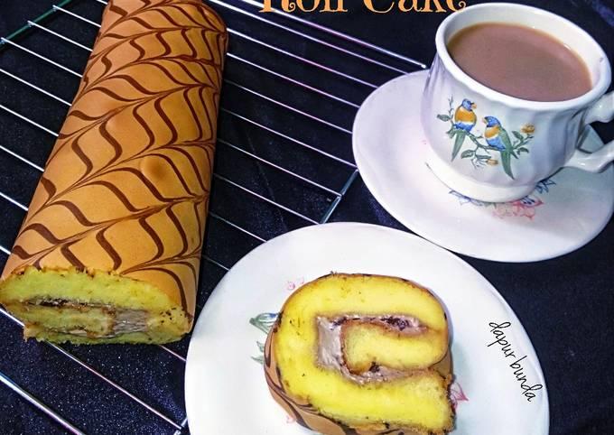 Mocca Roll Cake