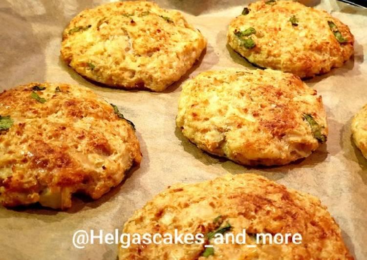 Blumenkohl-Frikadellen aus dem Ofen