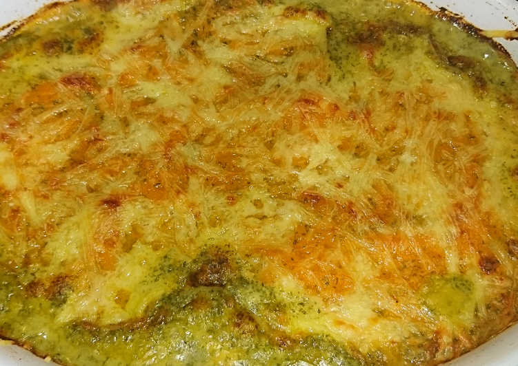 How to Make Yummy Cheesy Sweet Potato Fisherman's Pie