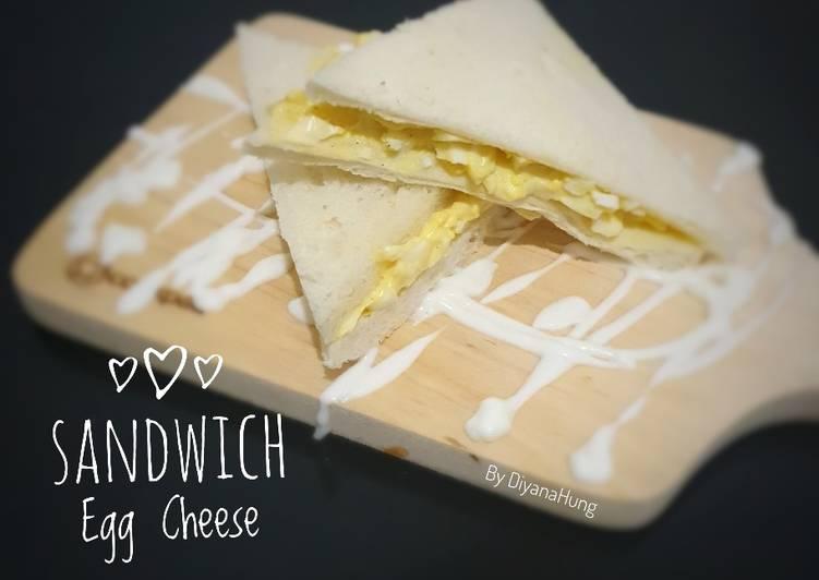 Resep Sandwich Egg & Cheese Paling dicari