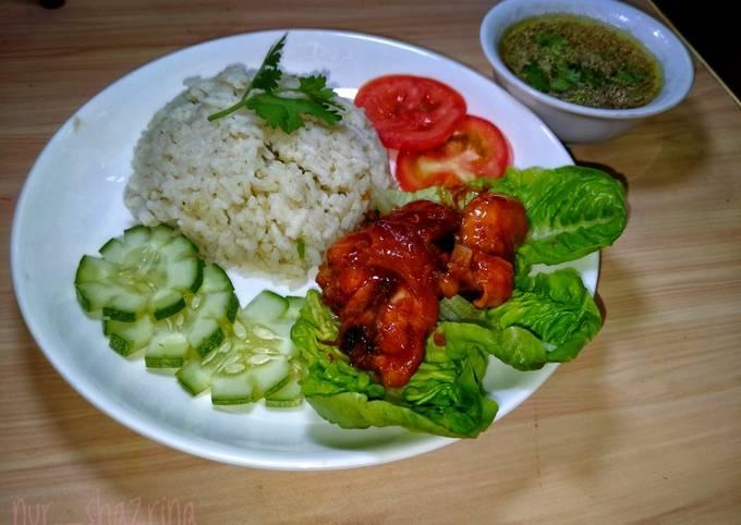 Resep Nasi Ayam Simple yang Lezat Sekali