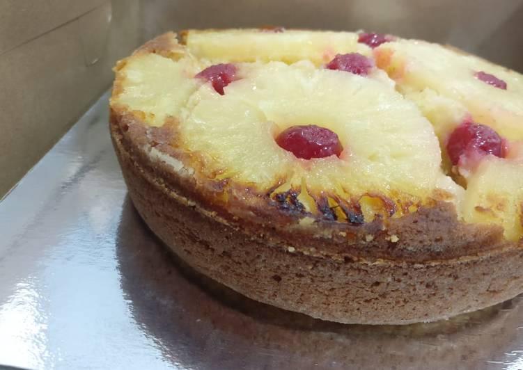 Upside Pineapple Down Cake