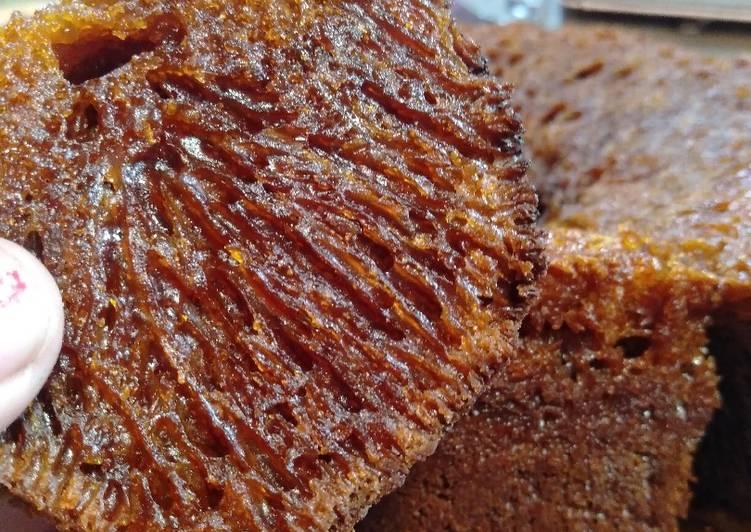 cara bikin Bolu karamel/sarangsemut - Sajian Dapur Bunda