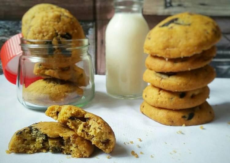 Chewy Choco Cookies ala NY Times (#PR_KueKering)