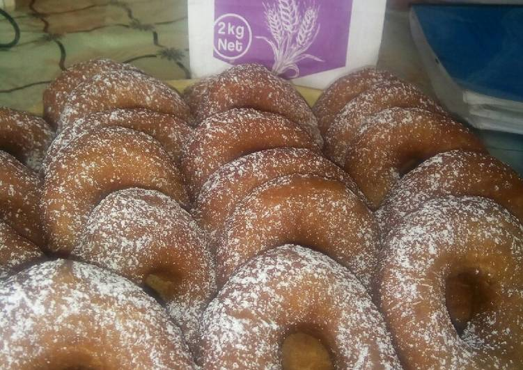 Recipe: Delicious Christmas doughnuts