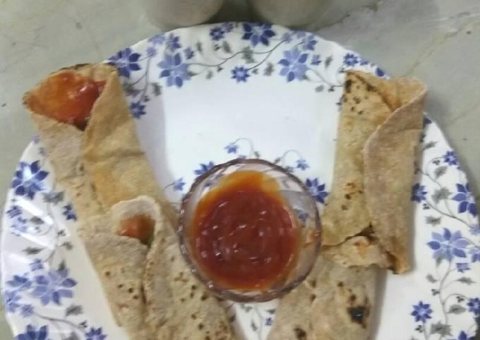 Chatpati roti sauce with Lemon juice