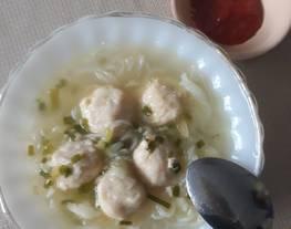 #180. Bakso Tempe (Tanpa telur) a.k.a Bakso Vegetarian