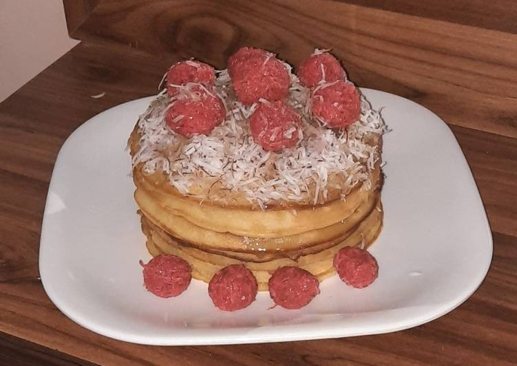 Recipe of Award-winning Coconut pancake