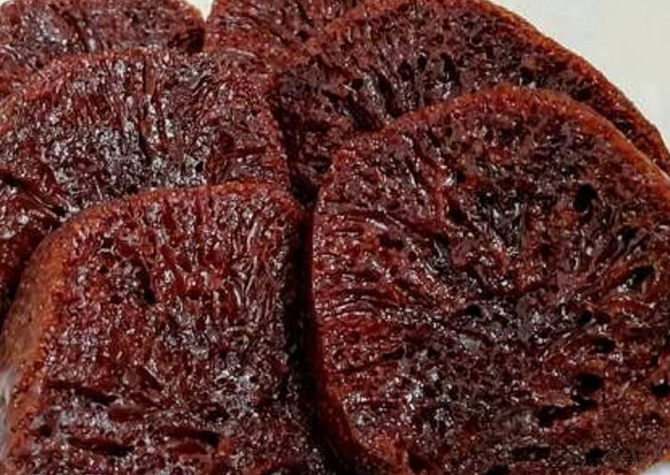 resep buat 11#👌Bolu caramel (sarang semut) kukus - Sajian Dapur Bunda