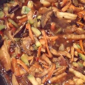 Chop Suey de verduras DIET sin carne