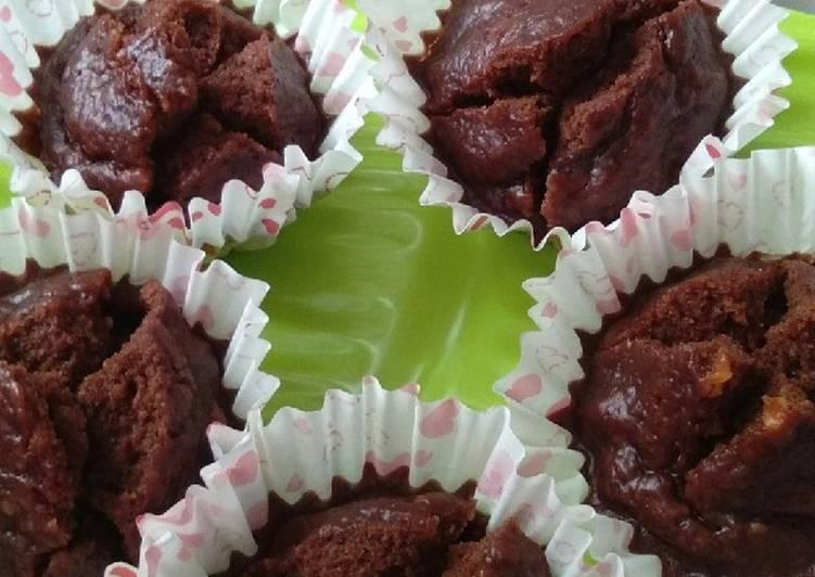 Bolu Coklat kukus Gluten Free dan Egg Free - cookandrecipe.com
