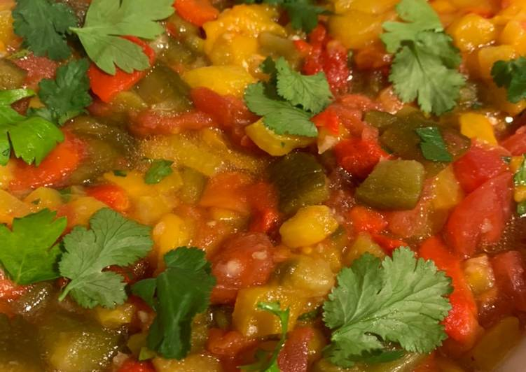 Façon la plus simple Cuisiner Savoureux Salade mechouia 🇩🇿