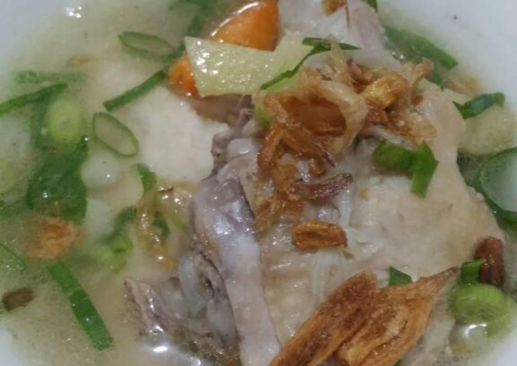 Resep Sup Ayam Jahe