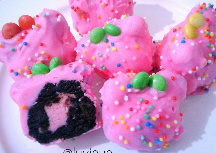 Minnie Coklat Strawberry 🙆