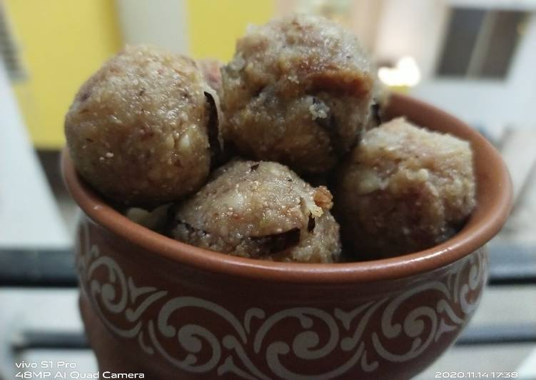 Easiest Way to Prepare Any-night-of-the-week Dry fruits Ladoo
