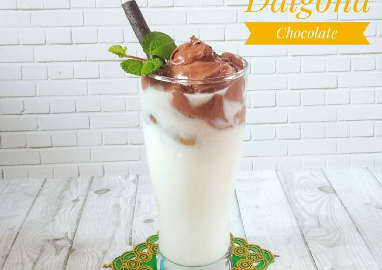 Dalgona Chocolate
