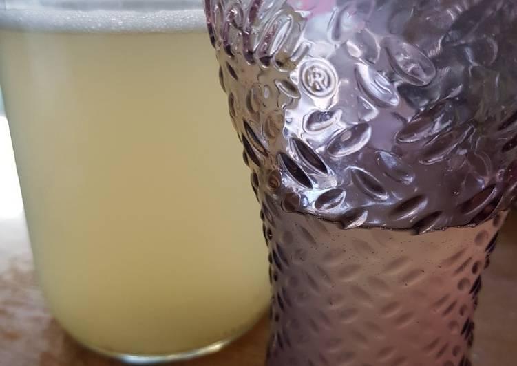Tepache mexicain à l'ananas