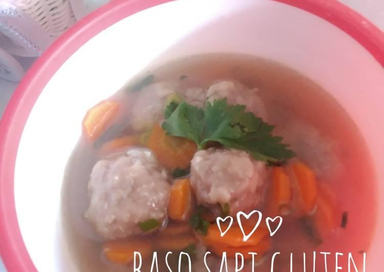 Resep Baso sapi gluten free, Enak Banget