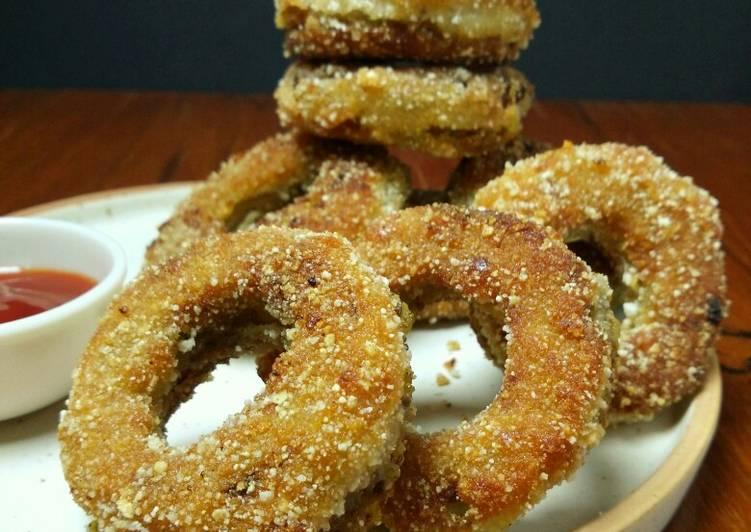 25 Minute Recipe of Royal Stuffed Onion Rings