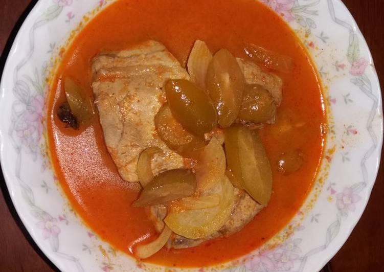 Ikan pangek padeh