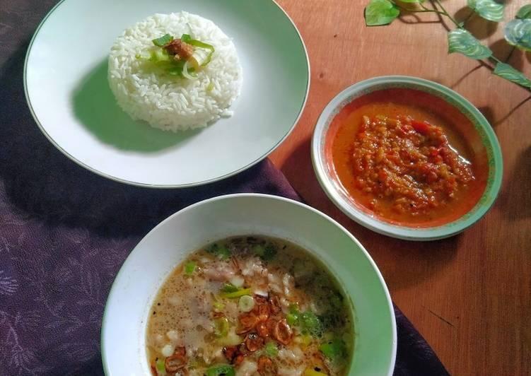 Coto Makasar / Coto Daging Khas Makasar