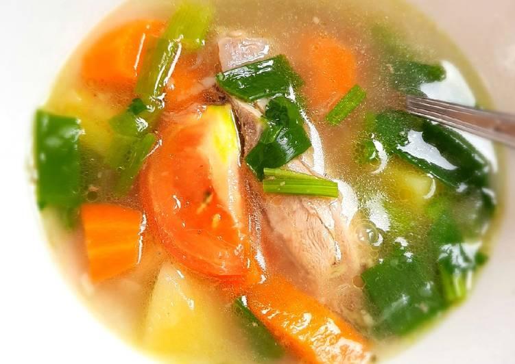 Resep Sop ayam Yang Mudah Enak