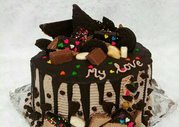Drip cake (#SelasaBisa)