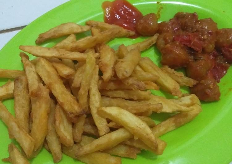 French fries home made