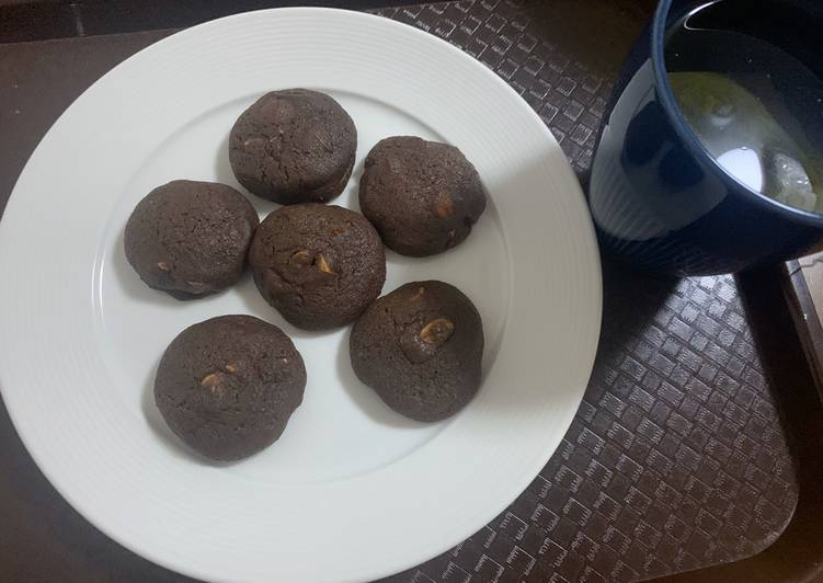 How to Cook Delicious Mocha almond cookies