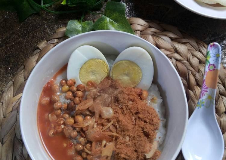 Bubur Nasi Sisa (Cepat & Gurih)