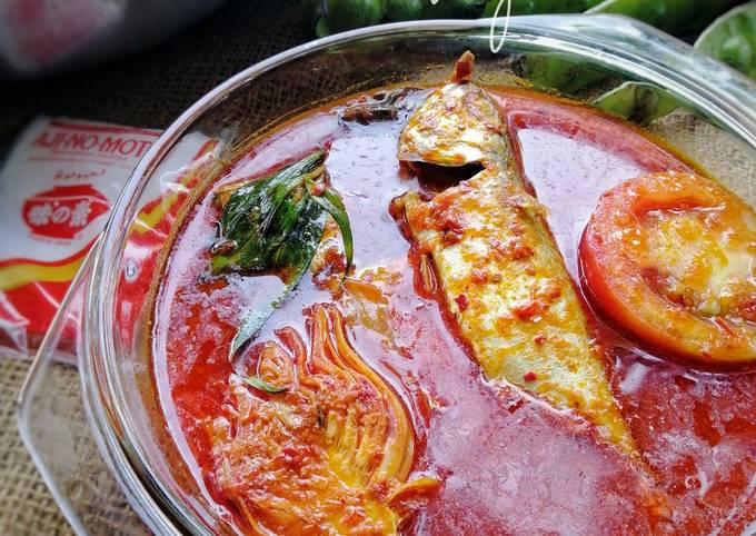 Cara Gampang Membuat Asam pedas ikan kembung ❤️ yang Sempurna