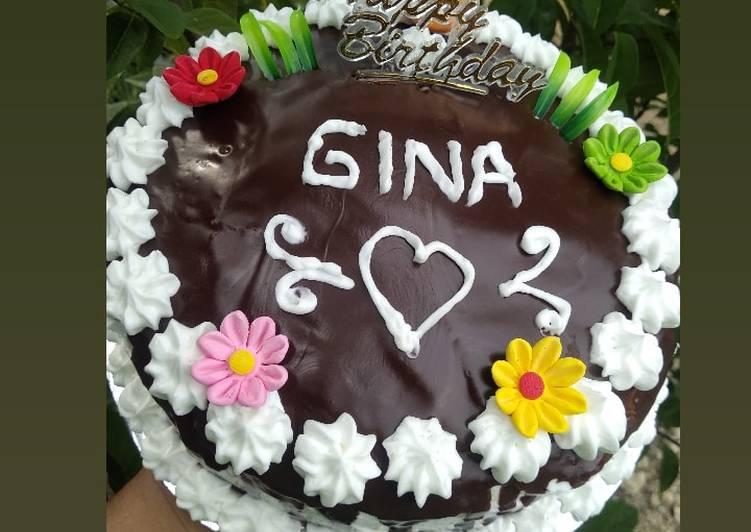 Resep Cake ulang tahun takaran sendok Anti Gagal