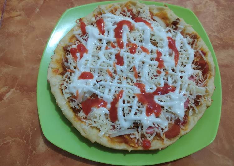 Pizza teflon anti gagal