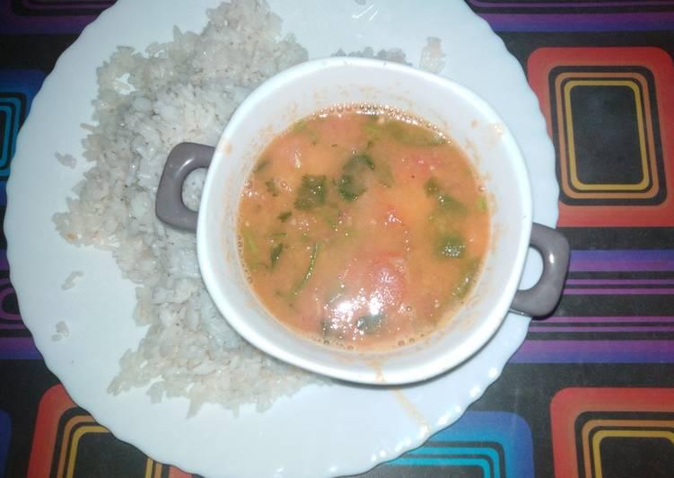 Dhal vegetarian stew