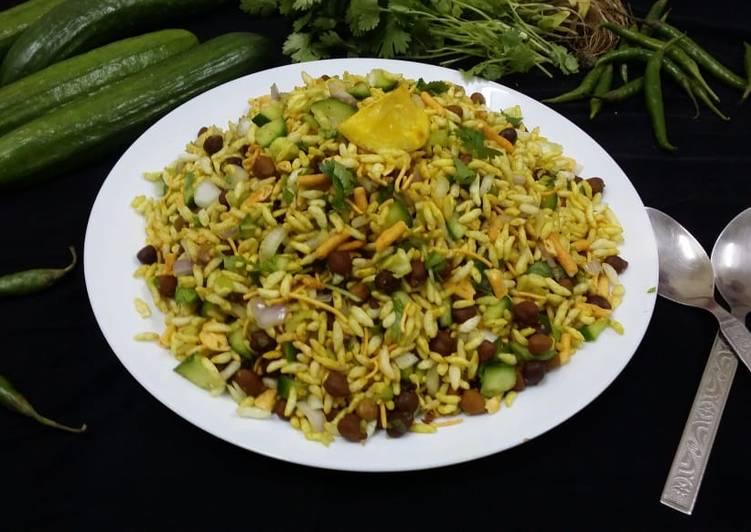 Recipe of Quick Jhal Muri (Bengali Spicy Puffed Rice)