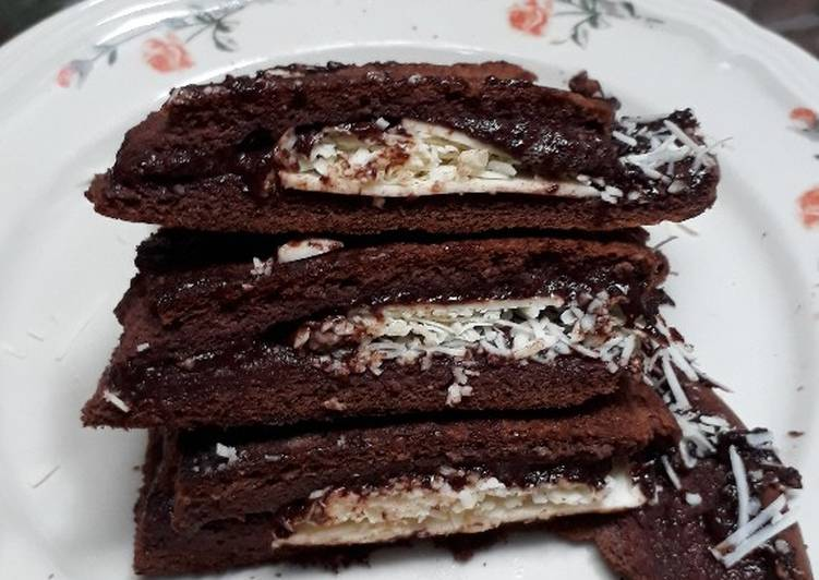 Martabak coklat KW ala debm