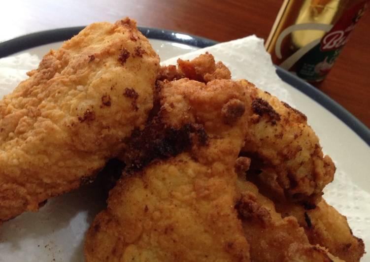 Resep Ayam Goreng Buttermilk Anti Gagal