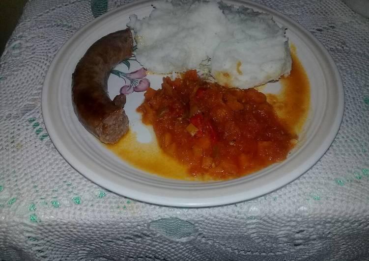 Recipe of Homemade Tomato gravy
