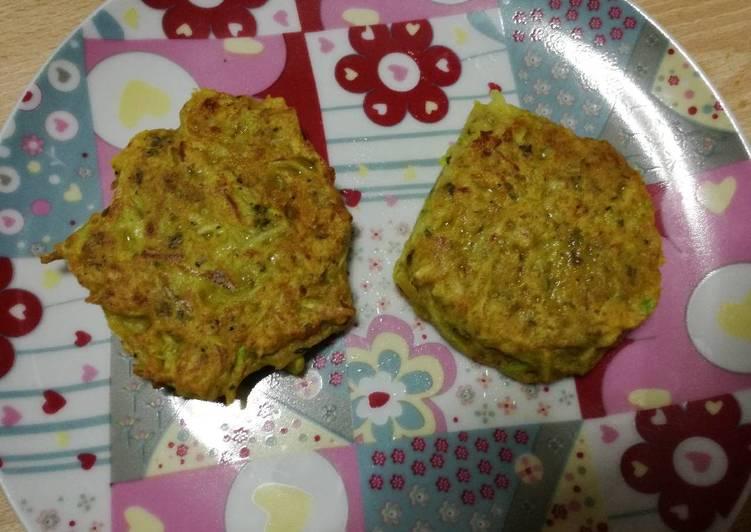 Tortitas De Calabacín Fáciles Blw Receta De Ana Cocinela