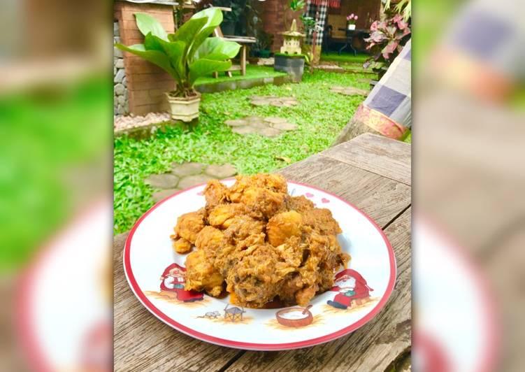 tutorial memasak rendang ayam resep enakmudahsimpel Resepi Pepes Ayam Enak dan Mudah